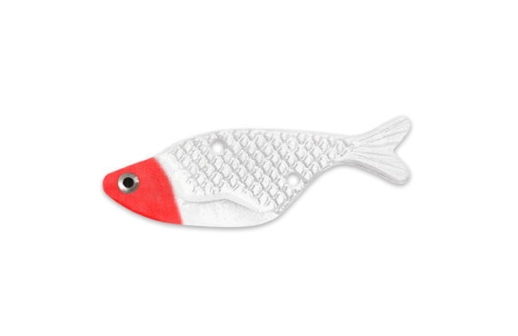 Bait Fish - Red Head White